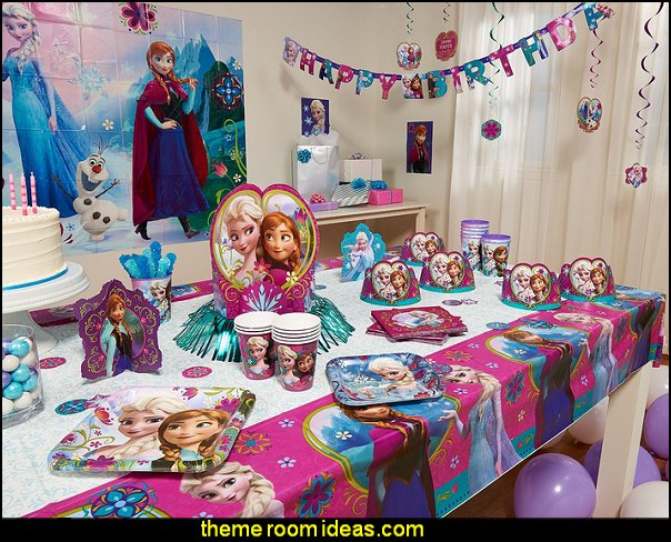 Disney Frozen  Birthday Party Decorations