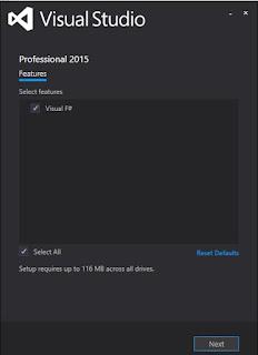Installing Visual F# Tools 4