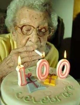 100 candles grandma