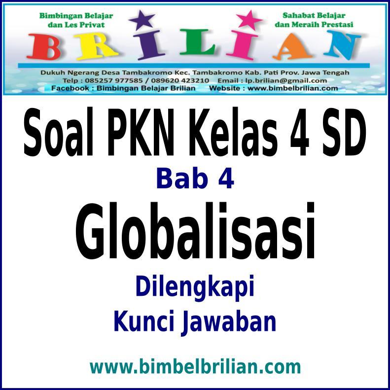soal essay globalisasi pkn