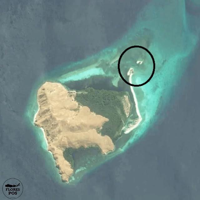Pulau Sembilan Flores versi HERE Map