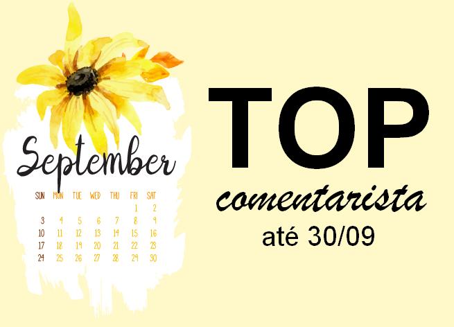 Top Comentarista: Setembro 2018