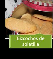 BIZCOCHOS DE SOLETILLA