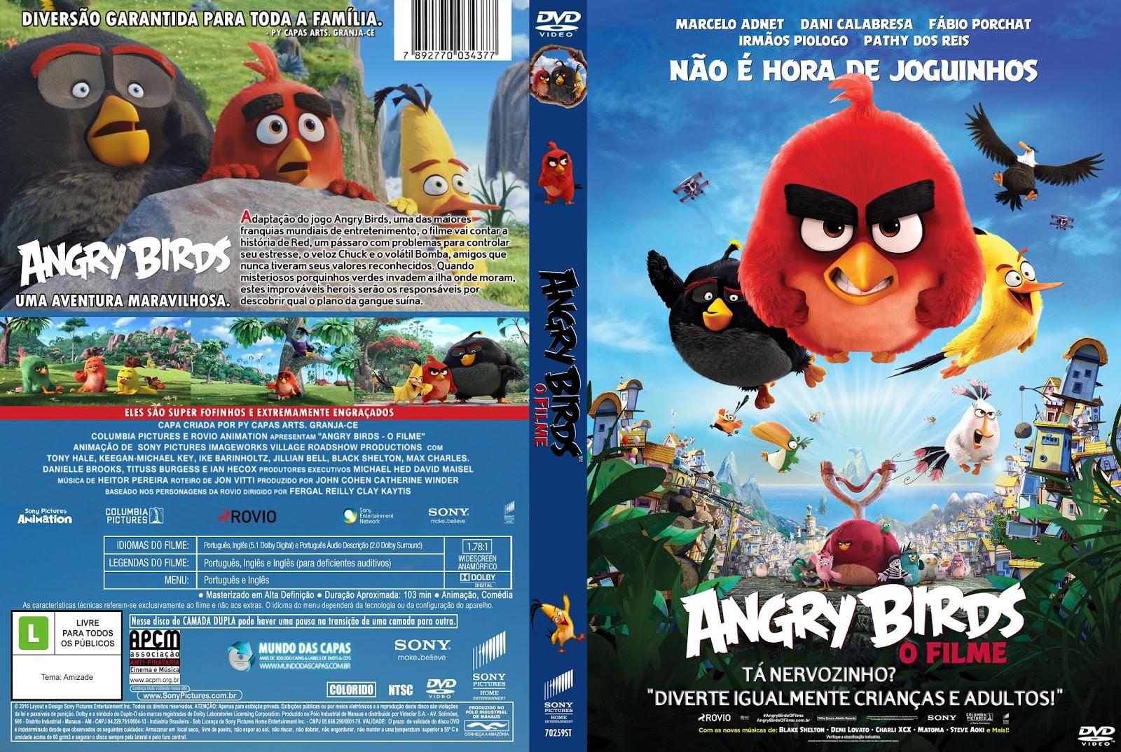 Angry Birds O Filme BDRip Dual Áudio Angry 2BBirds 2B  2BO 2BFilme 2B 25282016 2529
