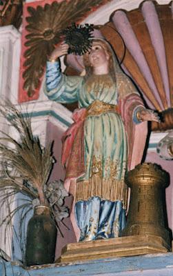 Santa Bárbara del Santuario de Silvallana, Castropol