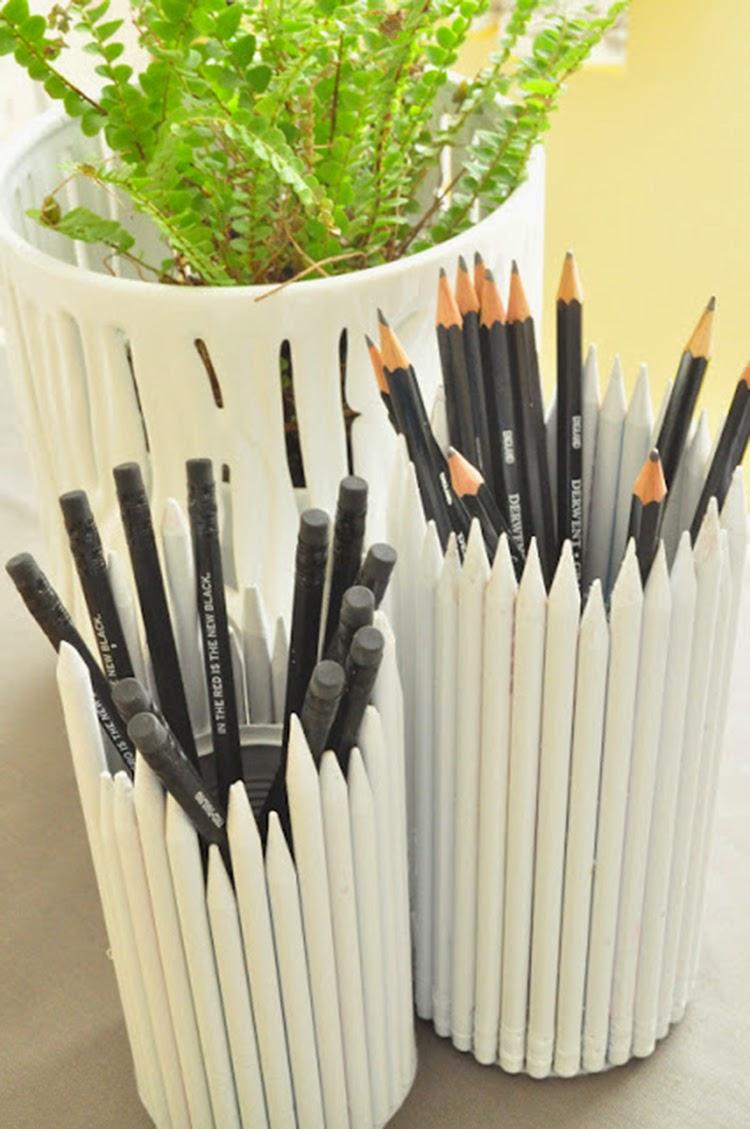 Diy Monday Pencil Holders Ohoh Blog