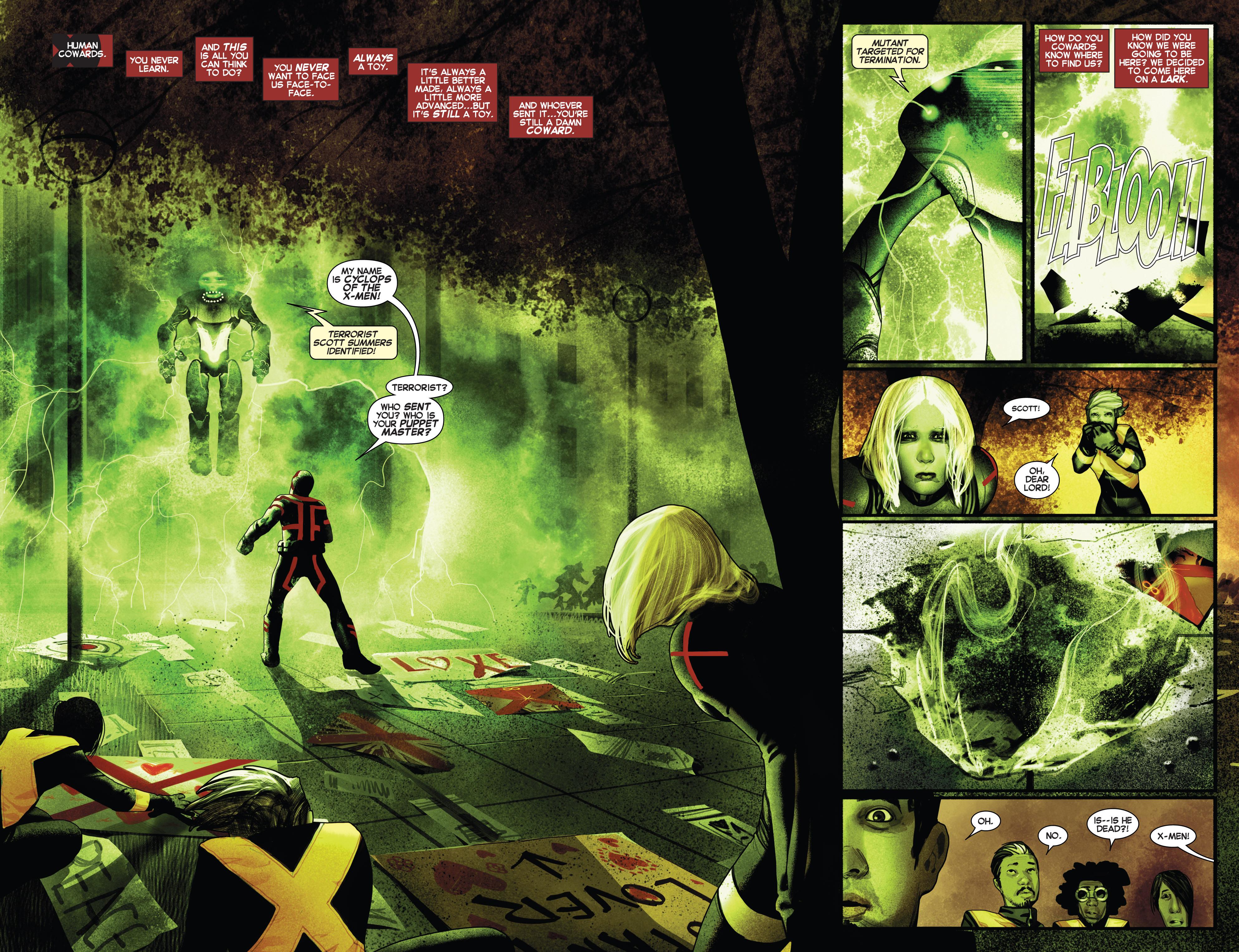 Read online Uncanny X-Men (2013) comic -  Issue # _TPB 2 - Broken - 99