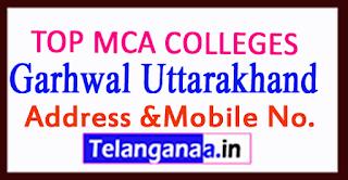Top MCA Colleges in Pauri Garhwal Uttarakhand