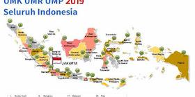 Daftar UMK UMP UMR 2019 Seluruh Indonesia