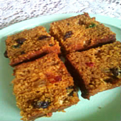 Kek Kukus/Steamed Fruit Cake Recipe @ treatntrick.blogspot.com