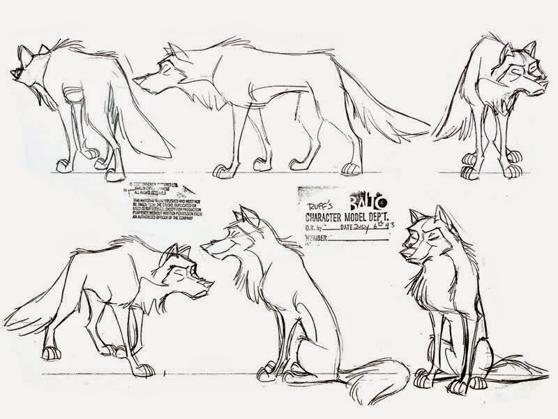 DART 110 F- Character Design I with instructor Philip Dimitriadis - character model template