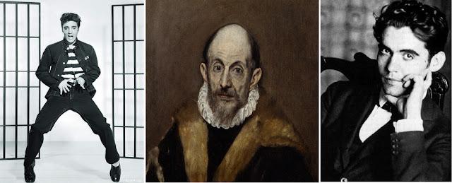Elvis Presley, El Greco e García Lorca
