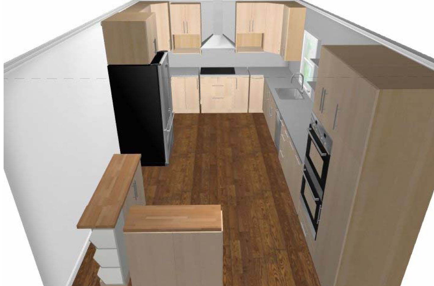 The Long Haul Addition Update Kitchen