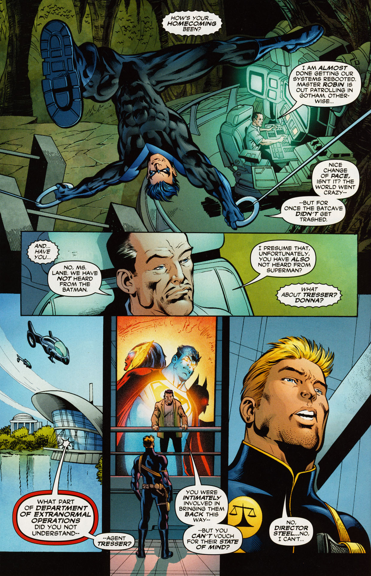 Read online Trinity (2008) comic -  Issue #43 - 21