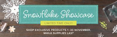 Stampin' Up! Snowflake Showcase Exclusive Craft Supplies from Mitosu Crafts UK Online Shop