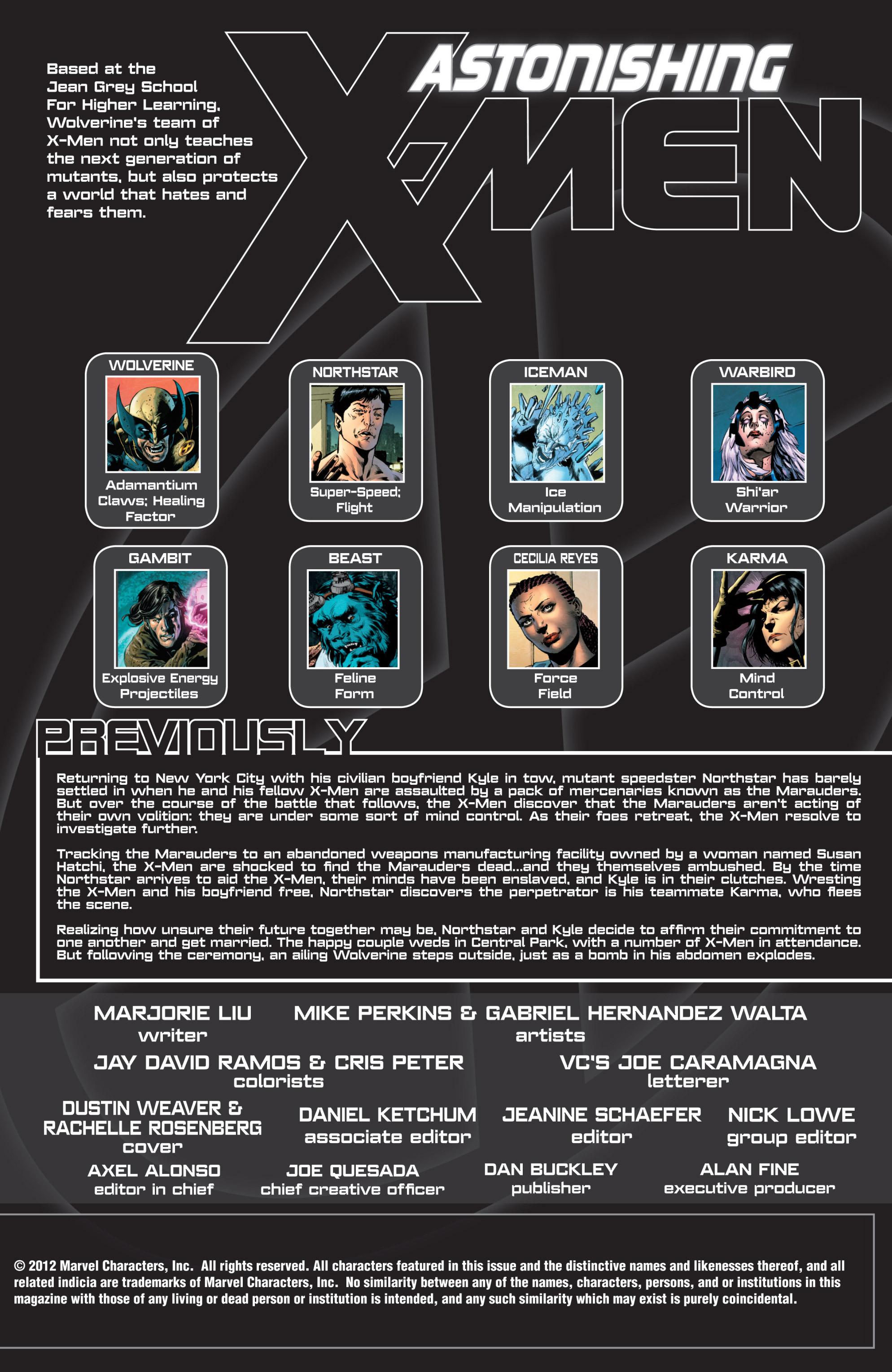 Read online Astonishing X-Men (2004) comic -  Issue #52 - 2
