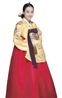 Hanbok Wanita