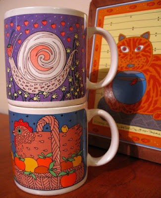 Classy Critters Taylor & Ng Coffee Mugs