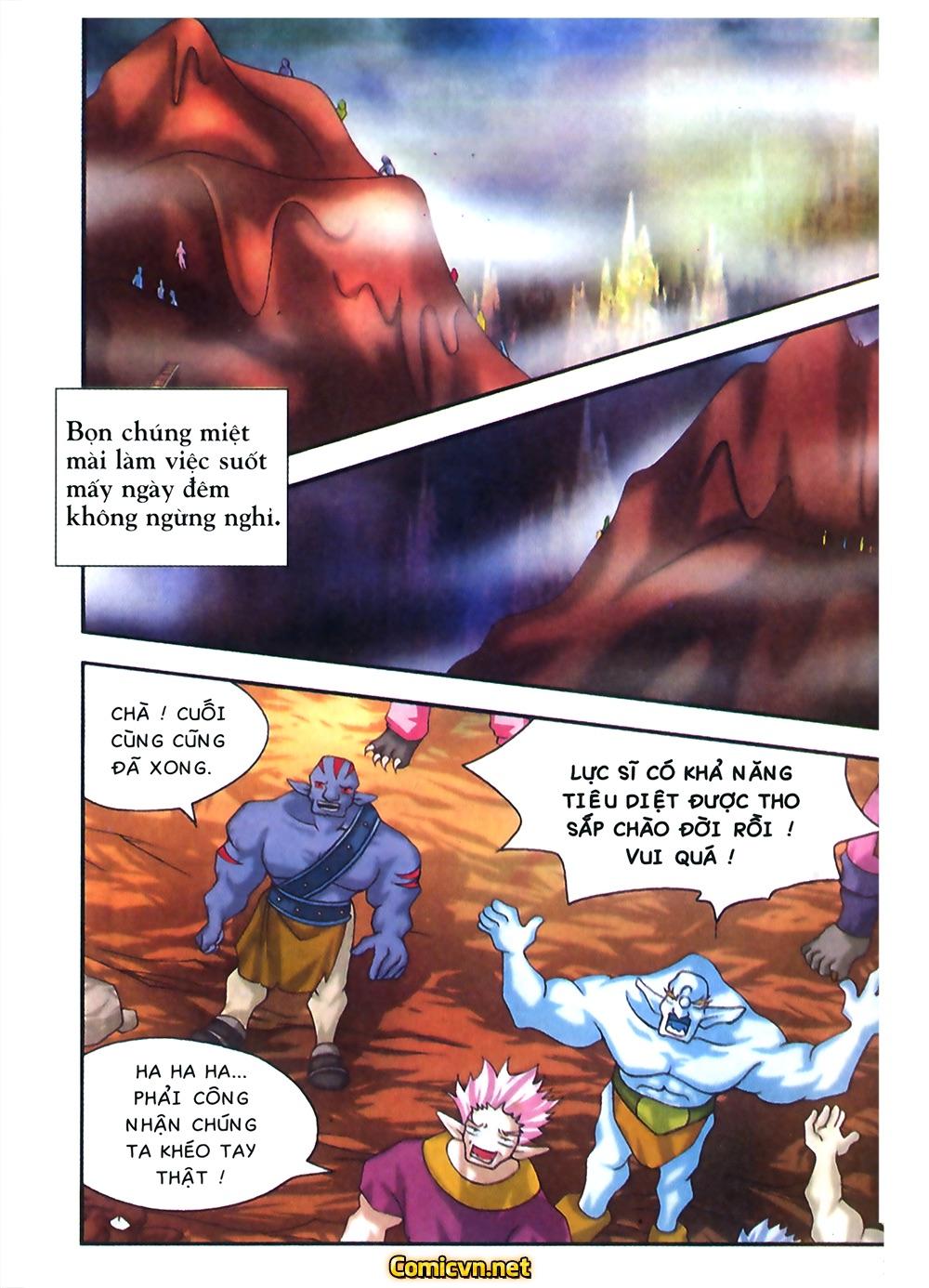 Thần thoại Bắc Âu - Chapter 31: Trận chiến không cân sức - Pic 16