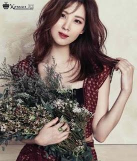 Foto Cantik Seohyun SNSD membawa bunga
