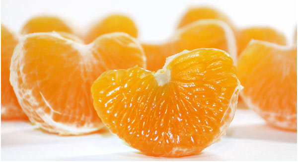 Advantages of orange peel for thinning