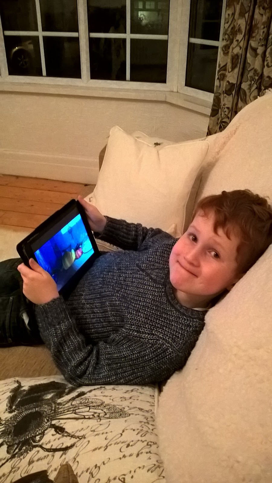 KidzInMind test on iPad - tech - motherdistracted.co.uk