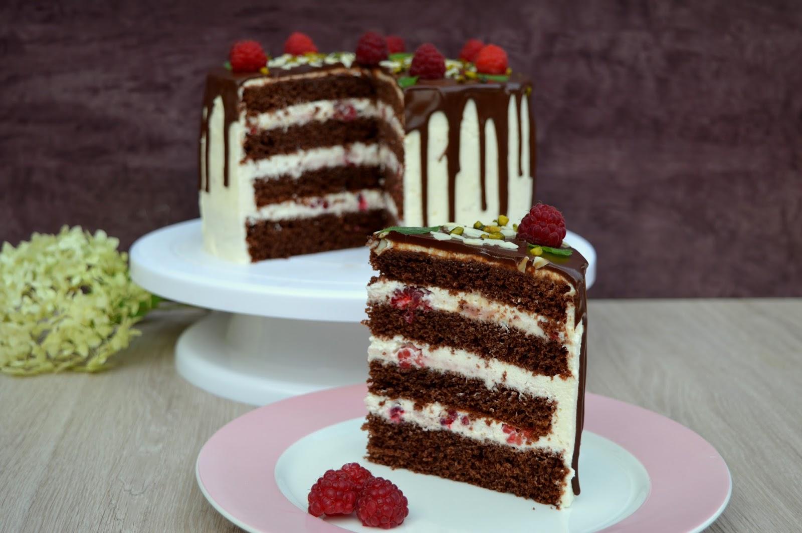 Julias zuckersusse kuchenwelt himbeer sahne torte for Küchenwelt