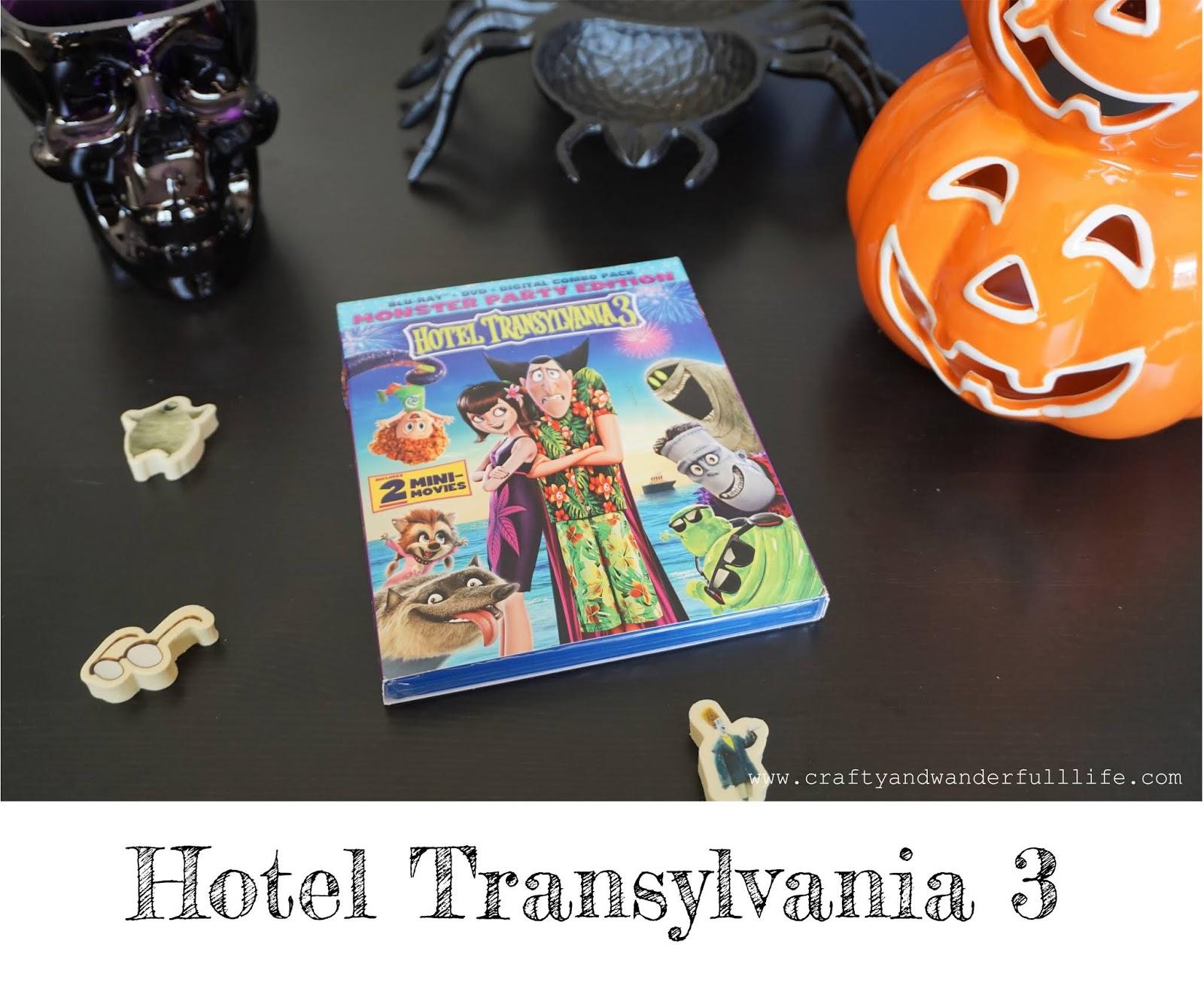 Crafty And Wanderfull Life: Hotel Transylvania 3
