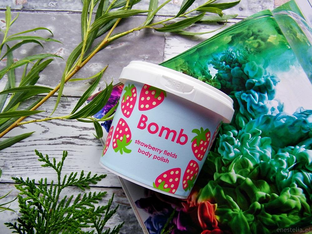Bomb Cosmetics peeling pod prysznic Truskawkowe Pola