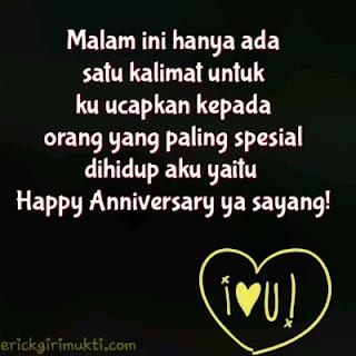 kata kata happy anniversary ya sayang