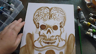 how to paint mars attacks
