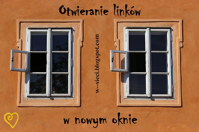 Otwieranie linków w nowym oknie