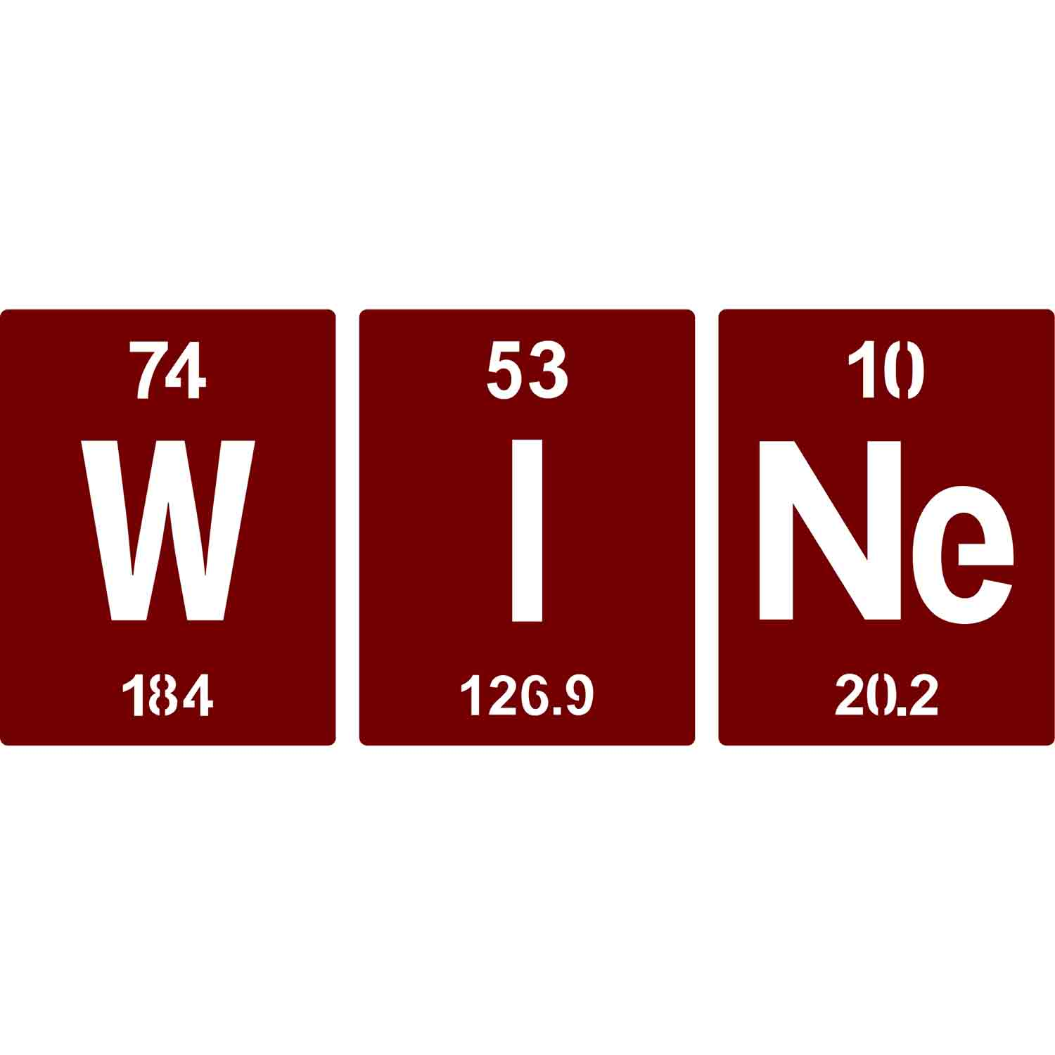 I Use This Cutting Board Periodically Quietfire Digital Periodic Table Wine And Wine Is