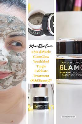 #MaskWeek: GlamGlow YouthMud Tinglexfoliate Treatment (M&SBeauty)*