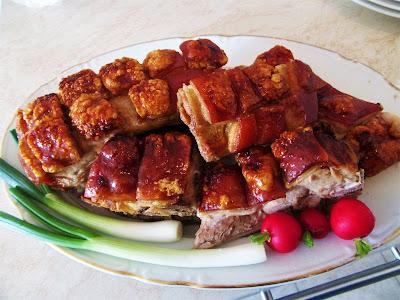 Pečeni odojak - pet kontrola / Roast pork - five checks