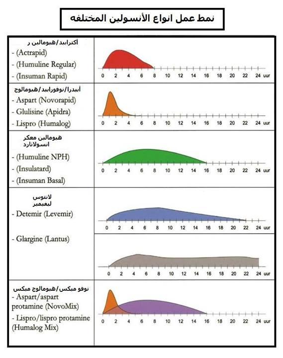 أنماط عمل الأنسولين