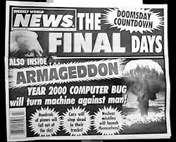 Y2K Tabloid predicting armageddon