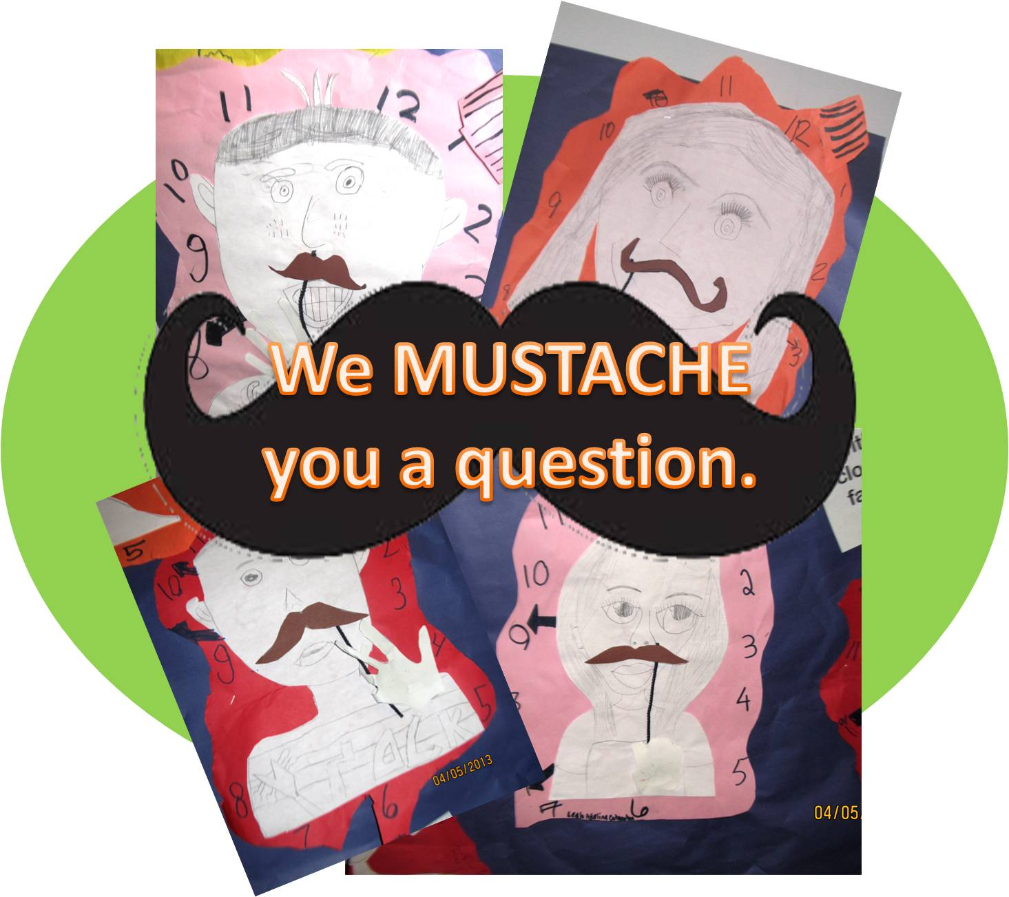Art Julz Salvador Dali Mustaches And 2nd Graders