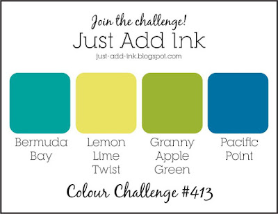 Jo's Stamping Spot - Just Add Ink Challenge #413