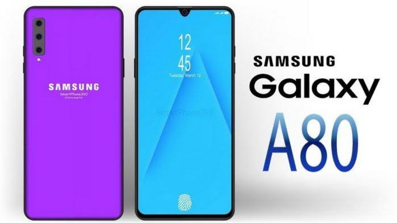 Harga Samsung Galaxy A80 Juni 2019 dan Spesifikasi