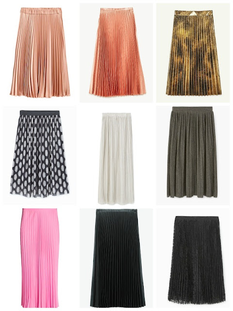 Pleated Skirt Outfit & Shopping Inspiration - Ioanna's Notebook