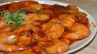 Resep Masakan Udang Saus Padang Enak Dan Praktis