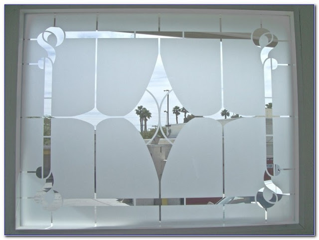 Best Etched GLASS WINDOW Clings for sale