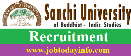 Sanchi University Recruitment 2016 Apply Online for 109 Posts
