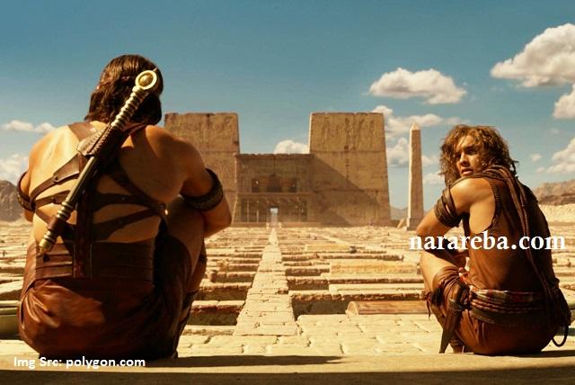 Horus (Dewa Langit) dan Bek (Manusia/mortal)