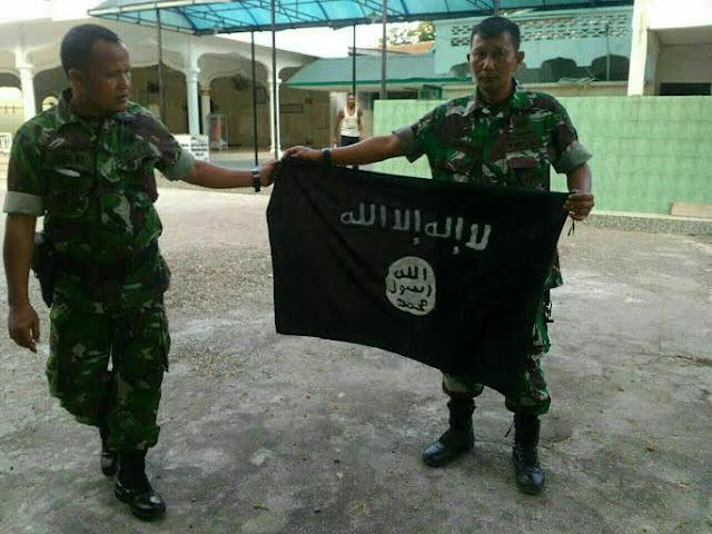 bendera isis di bireuen