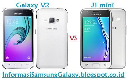 Harga dan Spesifikasi Samsung Galaxy V2 J106B vs J1 mini (2016)