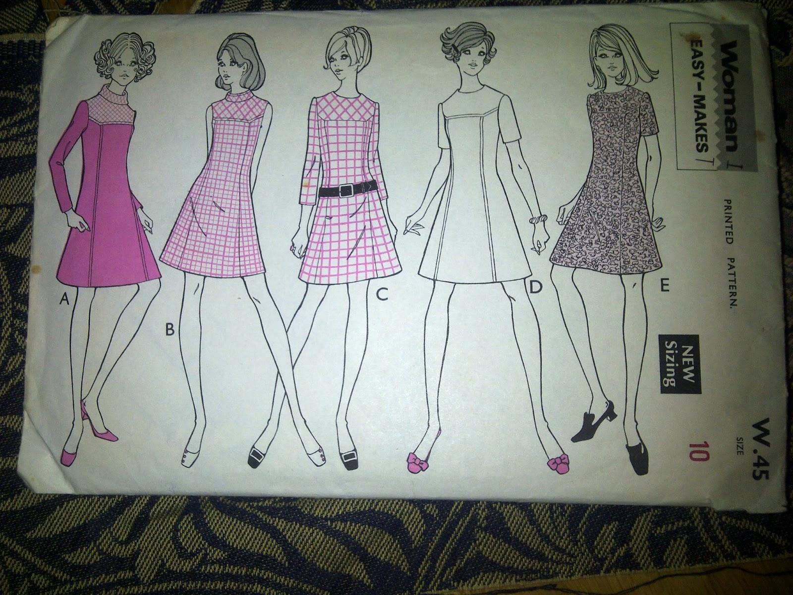 Everything I've been making: Brocade dress