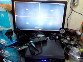 cara perbaiki CCTV tidak tampil di Layar