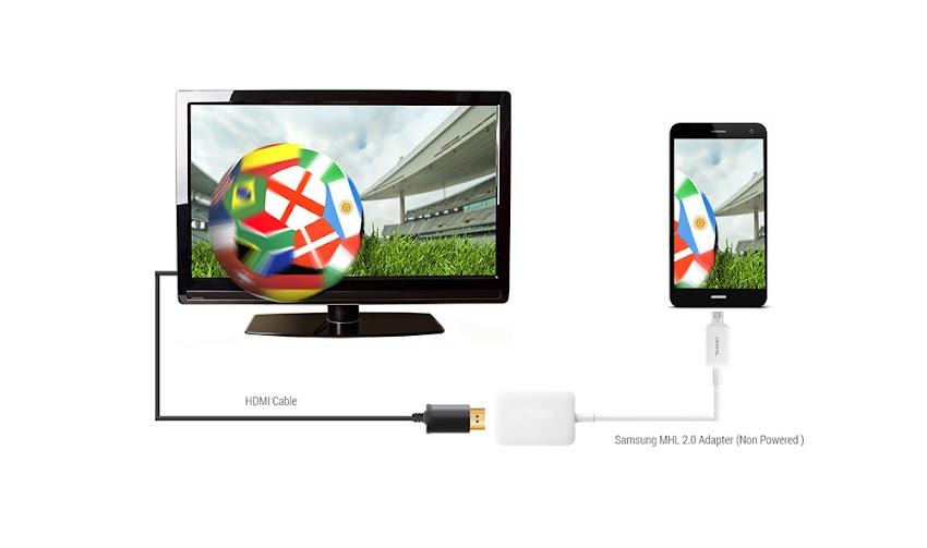 Como conectar el teléfono a la TV adaptador MHL HDMI